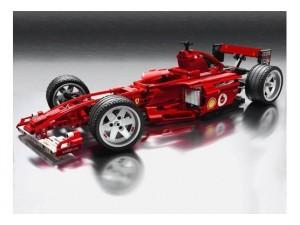 obrázek Lego 8386 Racers - Ferrari F1 Racer