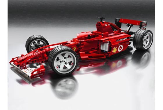 Lego 8386 Racers - Ferrari F1 Racer