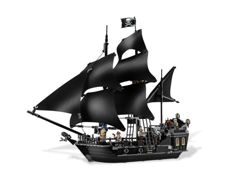 Lego 4184 Piráti z Karibiku Černá perla
