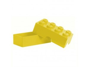 obrázek Lego dóza na svačinu žlutá