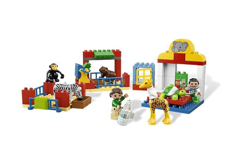 Lego 6158 Duplo Zoo Klinika pro zvířata