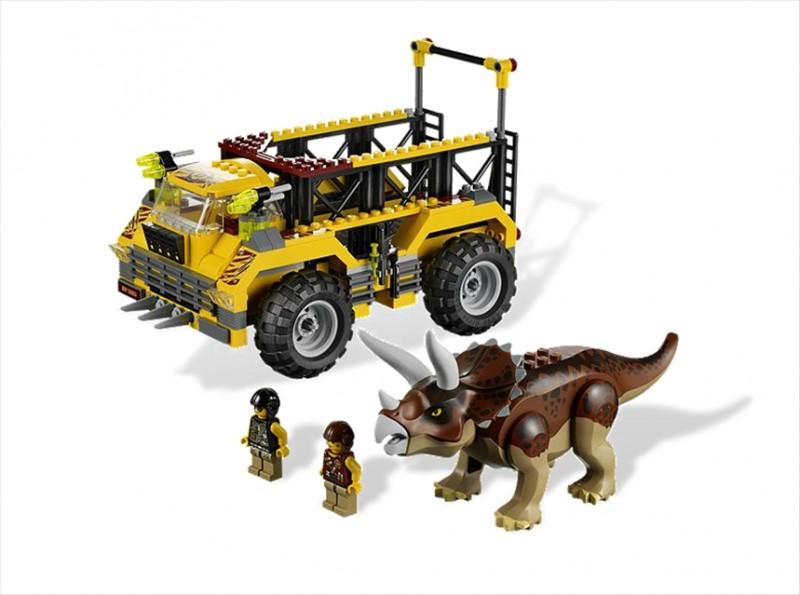 Lego 5885 Dino Lovec triceratopsů