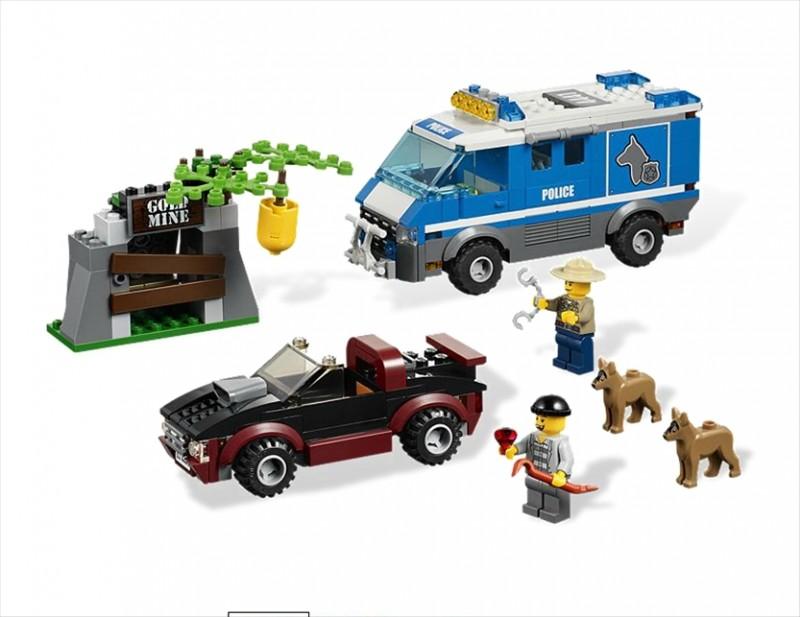Lego 4441 City Policejní dodávka pro psa
