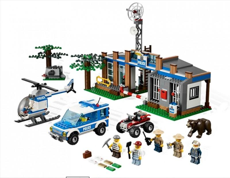 Lego 4440 City Policejní stanice