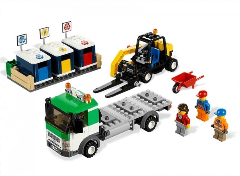 Lego 4206 City Recyklační vůz