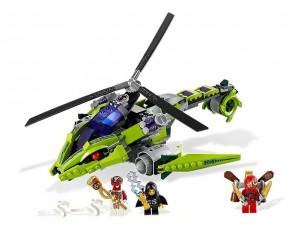 obrázek Lego 9443 Ninjago Hadí vrtulník