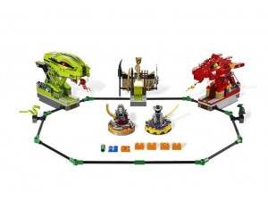 obrázek Lego 9456 Ninjago Spinnerová bitva