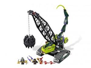 obrázek Lego 9457 Ninjago Fangpyrův destruktor