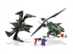 obrázek Lego 6863 Super Heroes Batwing Battle Over Gotham