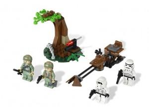 obrázek Lego 9489 Star Wars Bojová jednotka Rebelů z Endor