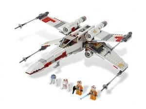 obrázek Lego 9493 StarWars Hvězdná stíhačka X-wing