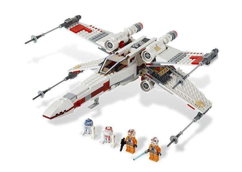 Lego 9493 StarWars Hvězdná stíhačka X-wing