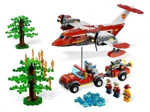 Lego 4209 City Hasičské letadlo