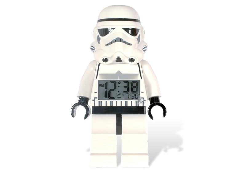 Lego 2856080 Star Wars digitalní budík Stormtroope