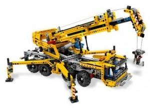 obrázek Lego 8053 Technic Pojízdný jeřáb
