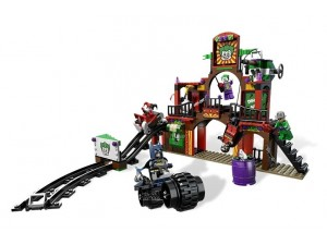 obrázek Lego 6857 Super Heroes Útěk z bláznivého domu