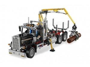 obrázek Lego 9397 Technic Transportér na dřevo