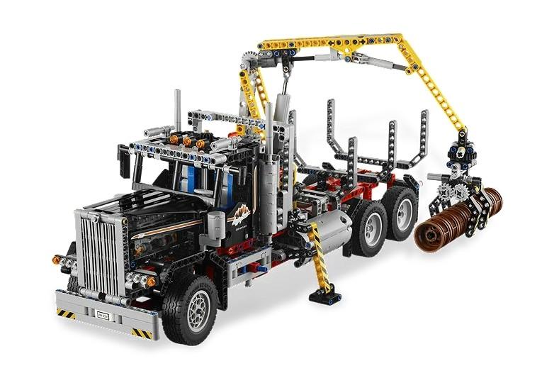 Lego 9397 Technic Transportér na dřevo