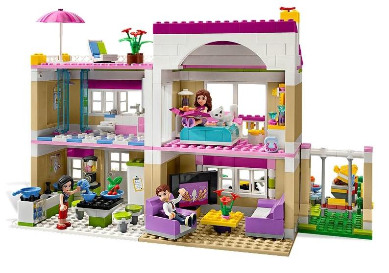 lego 3315 friends olivia a vysn n d m. Black Bedroom Furniture Sets. Home Design Ideas