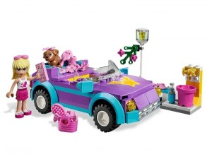 obrázek Lego 3183 Friends Cabriolet Stephanie
