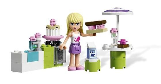 Lego 3930 Friends Stephanie v pekařském stánku
