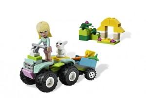 obrázek Lego 3935 Friends Stephanie zachraňuje zvířátka