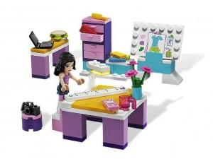 obrázek Lego 3936 Friends Ema a její návrhářské studio