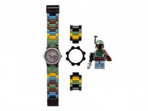 obrázek Lego 5000143 hodinky Star Wars Boba Fett