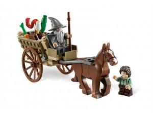 obrázek Lego 9469 Pán prstenů Gandalf přichází