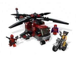 obrázek Lego 6866 Super Heroes Wolverinovo zúčtování