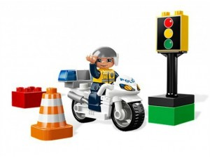obrázek Lego 5679 Duplo Policejní motorka