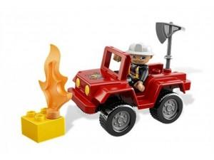 obrázek Lego 6169 Duplo Velitel hasičů