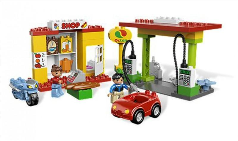 Lego 6171 Duplo Čerpací stanice