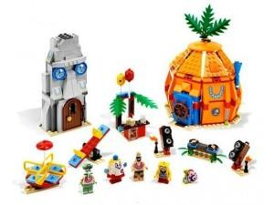 obrázek Lego 3818 SpongeBob Bikini Bottom podmořská párty