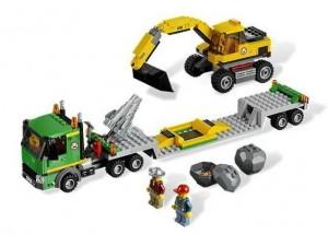 obrázek Lego 4203 City Přeprava a bagr