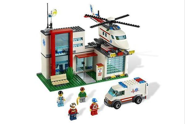Lego 4429 City Záchranná helikoptéra