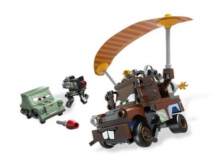 obrázek Lego 9483 Cars Agent Burák na útěku