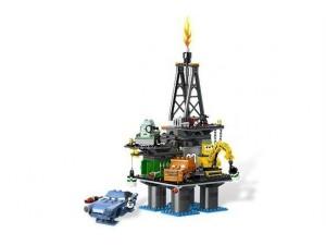 obrázek Lego 9486 Cars Únik z ropné plošiny