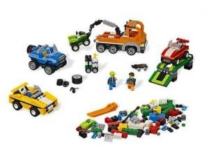 Lego 4635 Creator kostky Bav se s autíčky