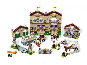 obrázek Lego 3185 Friends Prázdninový jezdecký tábor