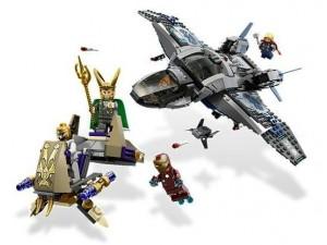 obrázek Lego 6869 Super Heroes Quinjet letecké bitvy