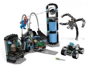 obrázek Lego 6873 Super Heroes Spidermanův útok za zálohy