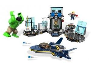 obrázek Lego 6868 Super Heroes Hulkův útěk z Helicarrieru