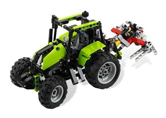 Lego 9393 Technic Traktor