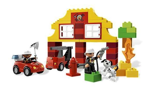 Lego 6138 Duplo Moje první Lego - Hasičská stanice