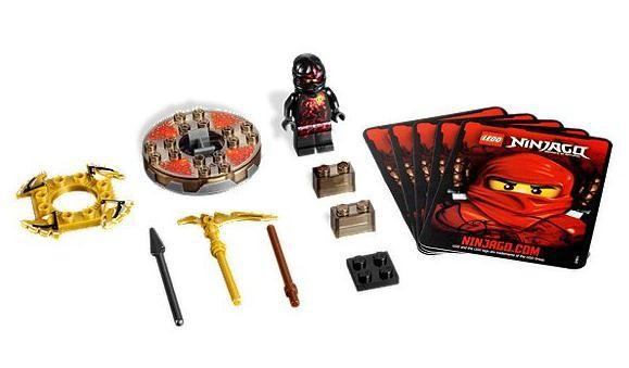 Lego 9572 Ninjago NRG Cole