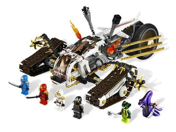 Lego 9449 Ninjago Nadzvukový jezdec