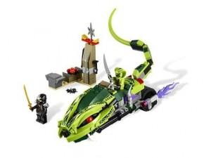 obrázek Lego 9447 Ninjago Lasha a motorka s kusadly