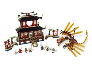 obrázek Lego 2507 Ninjago Chrám ohně