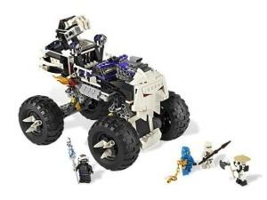 obrázek Lego 2506 Ninjago Vůz s lebkou